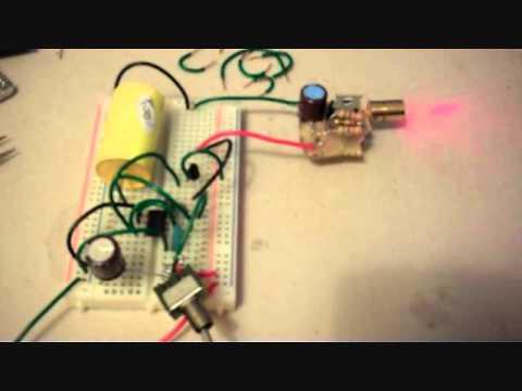 Pulsed Laser Circuit Design