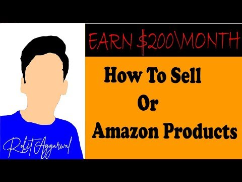 EARN $200 per month | how to sell or promote amazon products FREE || 2018 || HINDI ||