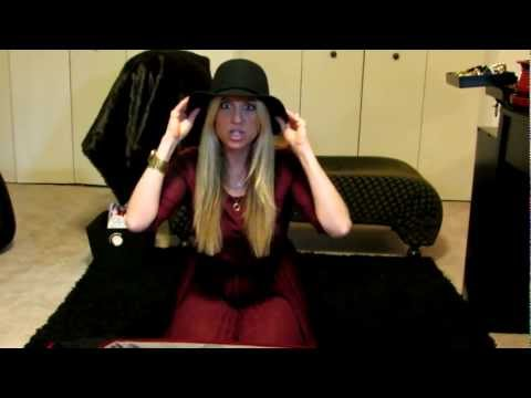 How To pack a hat in your suitcase!