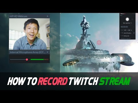 How to Record a Twitch Stream | 3 Easy Ways