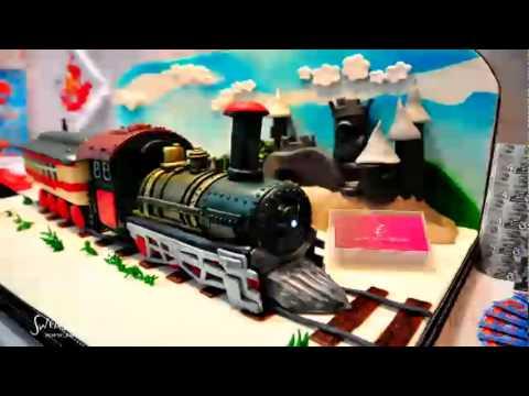 Swens Homemade Cake / 3D Train Cake In Penang