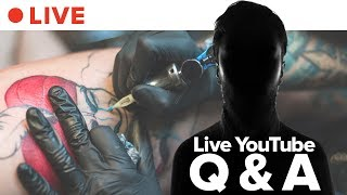 Ask Tattoo Artists Anything • LIVE
