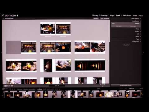 Photo Book Creation with Lightroom 4