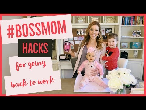 MATERNITY LEAVE HACKS 🤰🏼🤱🏼 | new mommy tips for going back to work