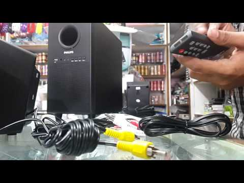 Philips spa3000u 5.1 speaker system