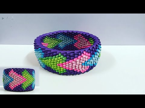 How to make 3d Origami Box