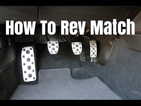 What Is Rev Matching? - How to Heel Toe Downshift Smoothly