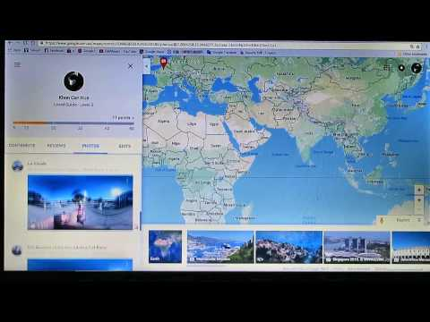 How to upload photo to google maps