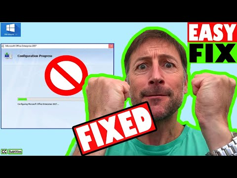 How to fix MS Office Configuration Progress every time Word or Excel Starts Windows 10