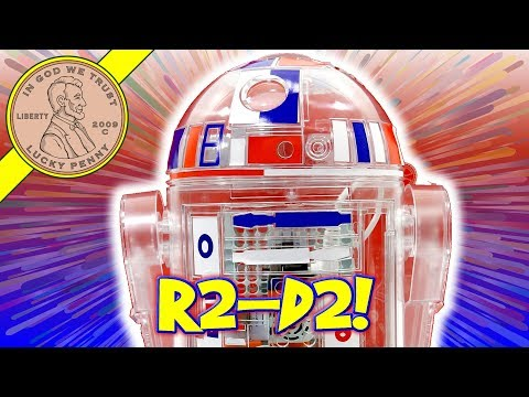 R2-D2 Droid Inventor Kit - Star Wars Toy! Patriotic Robot Kit Complete Build!