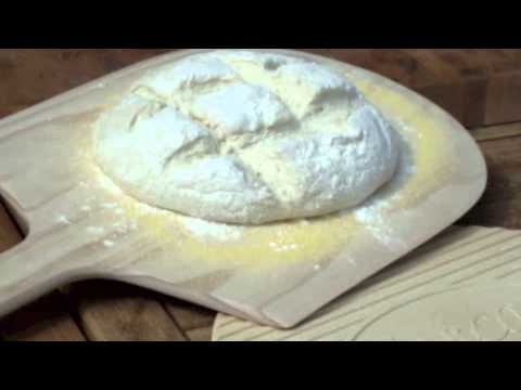 Baking Bread on a Tuscan Chef Oven