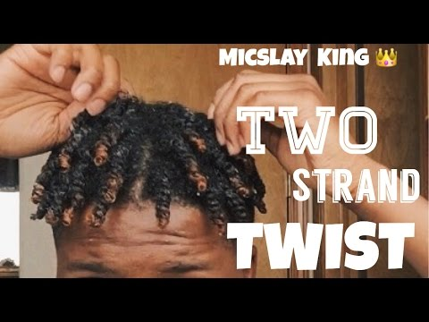HOW TO: two strand twist | Men,women
