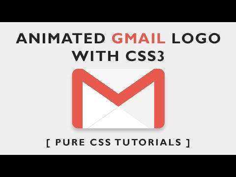 How to Create Gmail logo with CSS3 - Pure Css Tutorials