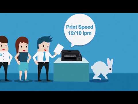 Faster Print Speeds with Brother Refill Tank Printers