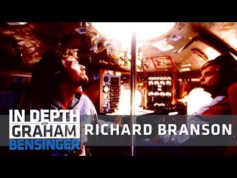 Richard Branson: Cheating death in a giant balloon
