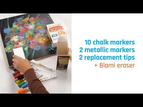 Blami Chalk Markers 12 set - Review