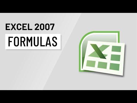 Excel 2007: Formulas