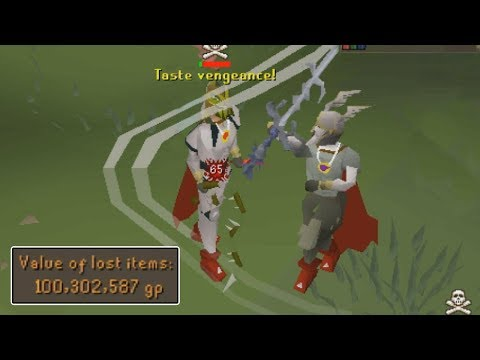 SKULLED 3RD AGE MELEE PKING
