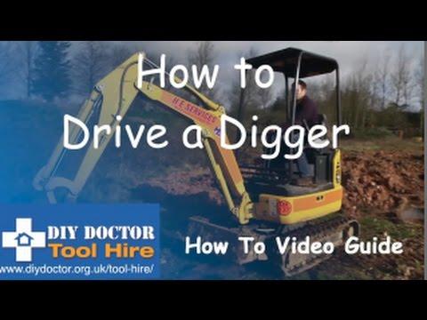Driving a Digger