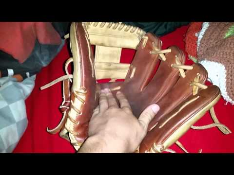 How to flare a baseball glove