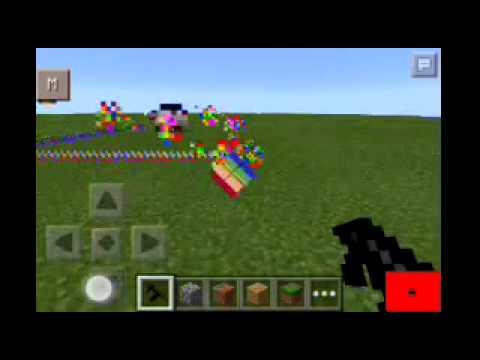 Minecraft PE Weapon Nyan Cat Mod