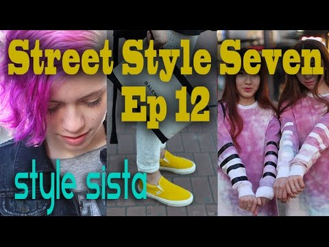 Street Style Seven Ep12 - 7 People 7 Outfits, Festival Fashion, Punk, Chic, Edgy, Rock, Boho