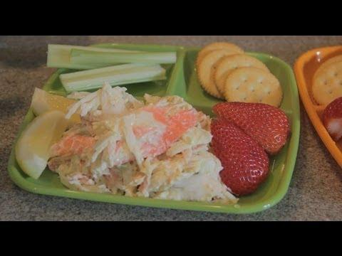 Imitation Crab  Salad with Lemon Juice