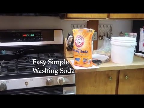 How to make Washing Soda- Make it your self- Moore2Life