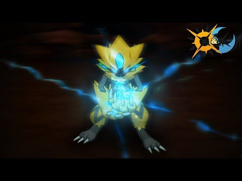 Pokémon Ultra Sun and Ultra Moon - Zeraora Gameplay! How To Get Event Discussion + Signature Move!