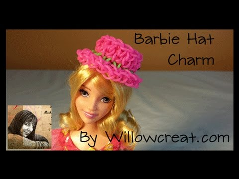 Barbie Hat Charm made with Hook -ADVANCED -  by Willowcreat.com