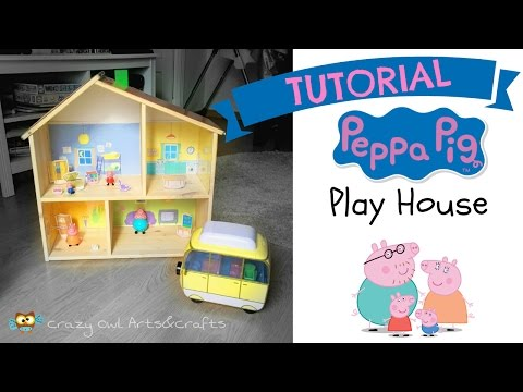 Tutorial PEPPA PIG Playhouse out of an IKEA dollhouse