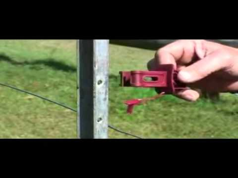 Electric Fence Post Insulators from SnapStay