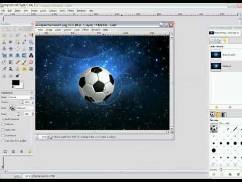 How to copy and paste picture onto other pictures on GIMP