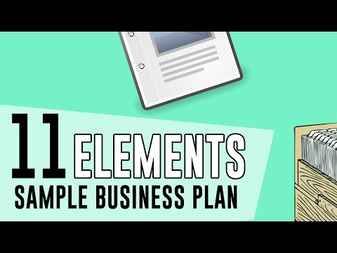 11 Elements of Sample Business Plan You Must Need to Know