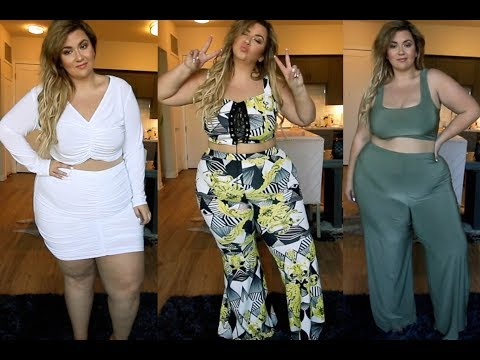 PLUS SIZE FASHION TRY ON HAUL | wtf is this stuff?! BOOHOO FAILS AND WINS | Sometimes Glam