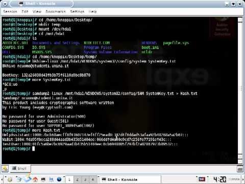 How to Recover Windows XP Passwords-03-XP_Passwords-Retrieve_The_Passwords