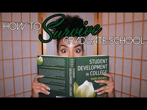 Ten Tips: How to Survive Graduate School
