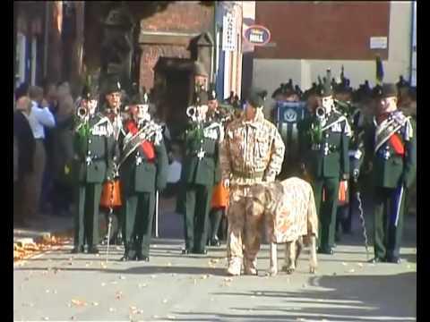 Royal Irish Regiment 1st Batt Return home