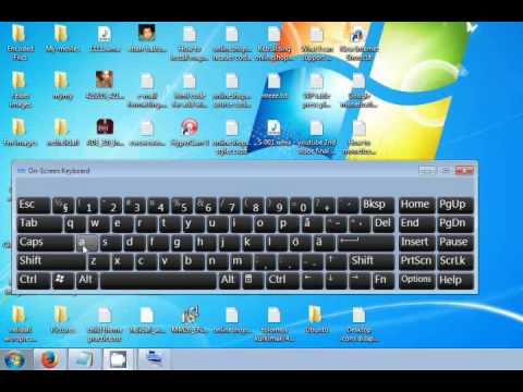 How computer works without keyboard in windows 7 and 8 tip YTV17