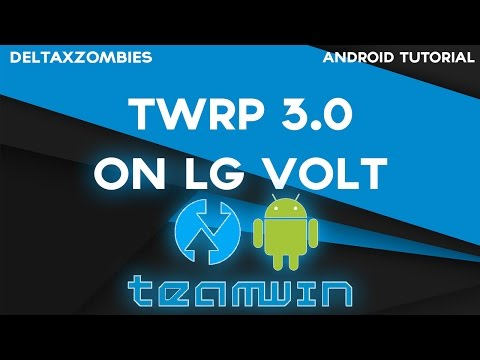 LG Volt TWRP Custom Recovery | TWRP 3 0 2 For CyanogenMod 13 - playithub com