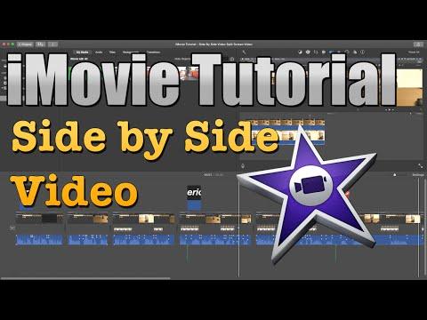 iMovie Tutorial 2016 - Split Screen Video | Side By Side Video [10.1]