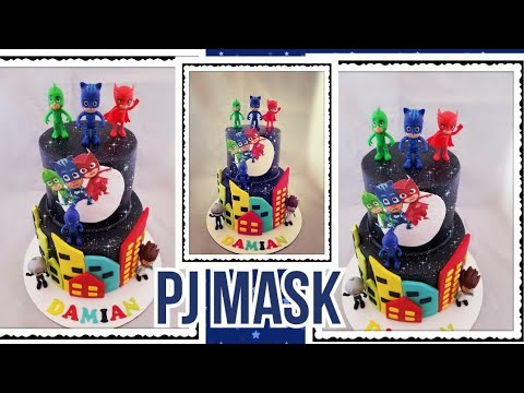 Salundando Pj Mask Cake