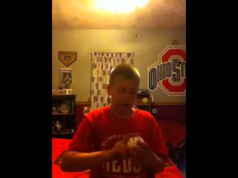How to hold and throw slider
