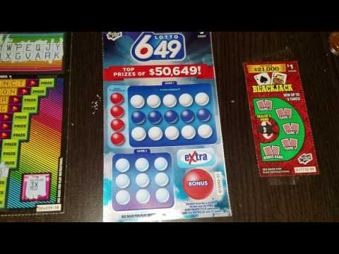 Canadian Lottery Tickets - Part 2
