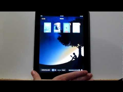 Kindle Cloud Reader on the iPad 2 Walkthrough