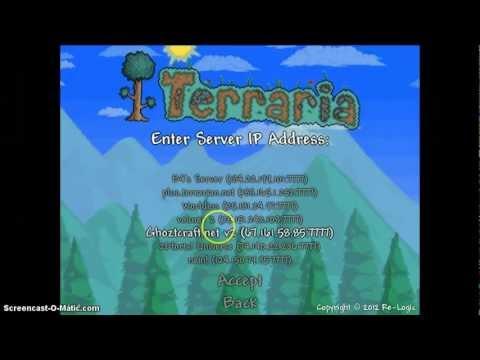 Terraria 1.1.2 servers