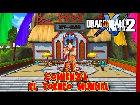 DRAGON BALL XENOVERSE 2 : COMENZAMOS EL TORNEO MUNDIAL ! BATALLAS ULTRA EPICAS SAIYAJINS