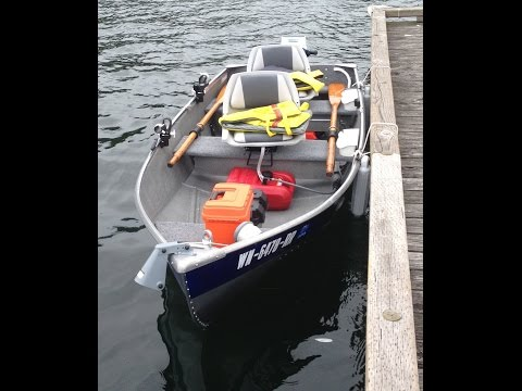 1962 Seaking 12 ft aluminum boat restoration & customization with 1973 Seaking 6 hp outboard