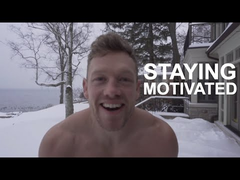 How To Stay Motivated...Working out in the winter.