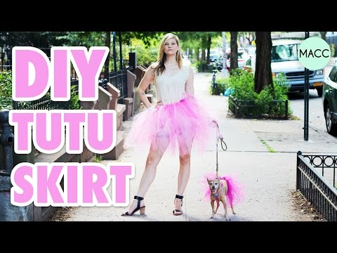 DIY Dog Tutu Skirt